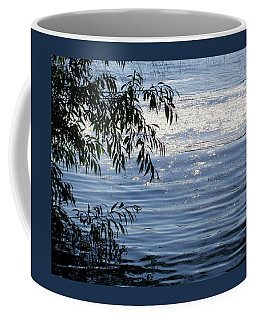 Reflections On The Lake Coffee Mug by Mary Wolf