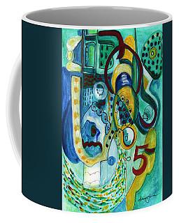 Reflective #5 Coffee Mug