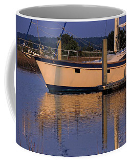 Coffee Mug featuring the photograph Reflective Mood by Laura Ragland