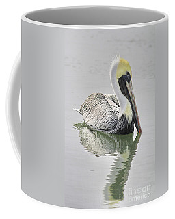 Reflective Pelican Coffee Mug