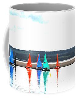 Reflective Sailing Coffee Mug