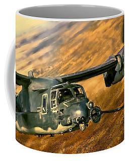 Refueling Coffee Mug by Dave Luebbert