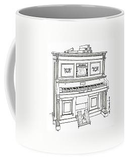 Regina Player Piano Coffee Mug