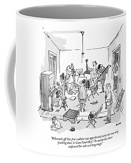 Rehearsal's Off! Our ?rst Violinist Coffee Mug
