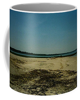 Rehoboth Bay Beach Coffee Mug by Amazing Photographs AKA Christian Wilson