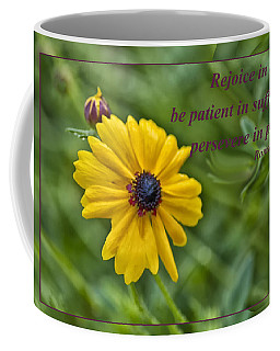 Rejoice In Hope Coffee Mug