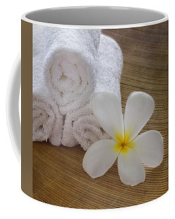 Coffee Mug featuring the photograph Relax At The Spa by Kim Hojnacki