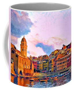Relaxing Around Vernazza Coffee Mug