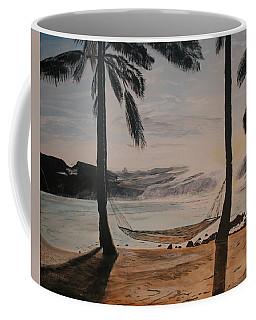 Relaxing At The Beach Coffee Mug