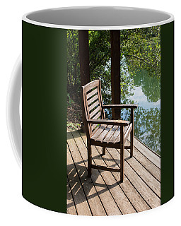 Alone By The Lake Coffee Mug