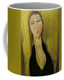 Sophisticated Lady With The Dreamy Eyes Coffee Mug