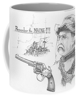 Remember The Maine Coffee Mug by Scott and Dixie Wiley