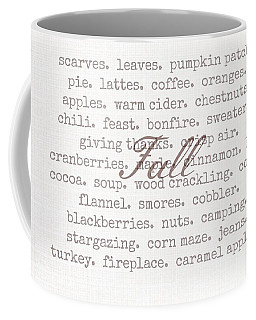 Remembering Fall Coffee Mug
