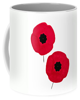 Remembrance Day Poppies Coffee Mug