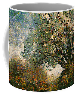 Coffee Mug featuring the digital art Reminiscing by Wendy J St Christopher
