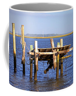 Coffee Mug featuring the photograph Remnants by Gordon Elwell