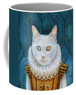 Coffee Mug featuring the painting Renaissance Cat by Terry Webb Harshman