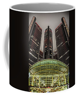 Renaissance Center Detroit Michigan Coffee Mug