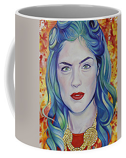 Coffee Mug featuring the painting Rene Taylor by Joshua Morton