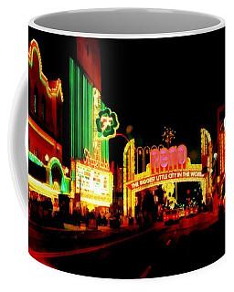 Reno At Night Coffee Mug