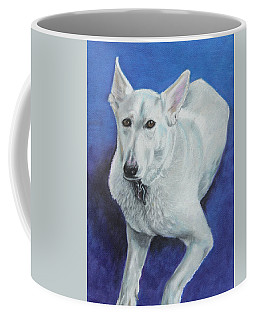 Coffee Mug featuring the painting Reno by Jeanne Fischer