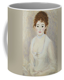 Renoir's Lady Coffee Mug by Marna Edwards Flavell