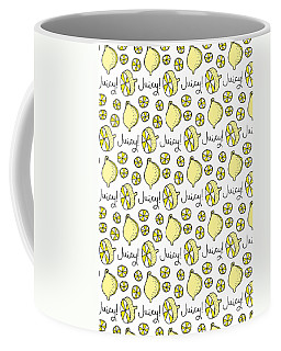 Repeat Prtin - Juicy Lemon Coffee Mug