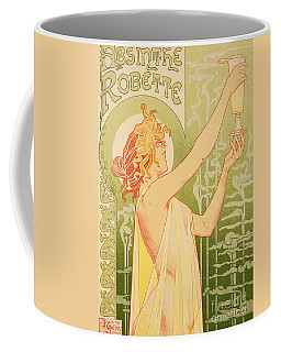 Reproduction Of A Poster Advertising 'robette Absinthe' Coffee Mug