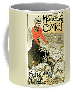 Reproduction Of A Poster Advertising Coffee Mug