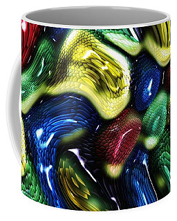Coffee Mug featuring the digital art Reptile House by Alec Drake