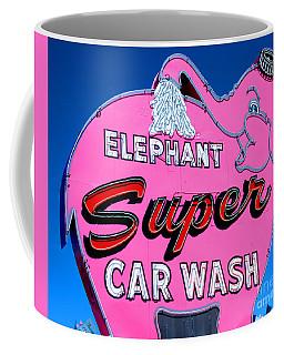Elephant Super Car Wash Sign Seattle Washington Coffee Mug