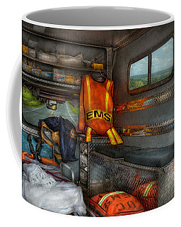 Rescue - Emergency Squad  Coffee Mug by Mike Savad