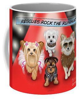 Rescues Rock The Runway Coffee Mug
