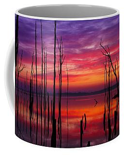 Reservoir At Sunrise Coffee Mug