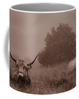Resting Beasts Coffee Mug by Linsey Williams