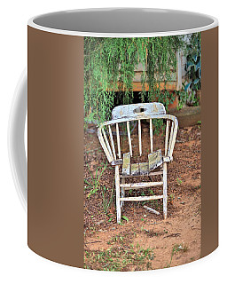 Coffee Mug featuring the photograph Retired by Gordon Elwell