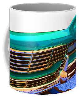 Coffee Mug featuring the photograph Retro Auto One by Denise Beverly