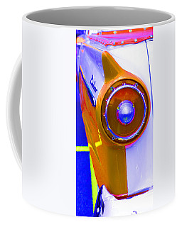 Coffee Mug featuring the photograph Retro Auto Three by Denise Beverly
