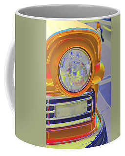 Coffee Mug featuring the photograph Retro Auto Two by Denise Beverly