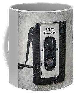 Retro Camera Coffee Mug by Linda Woods