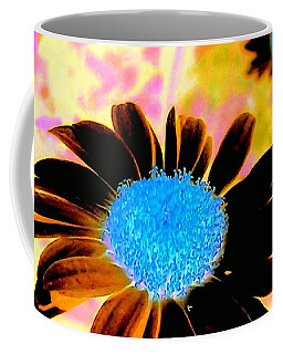 Retro Daisy Coffee Mug by Jacqueline McReynolds