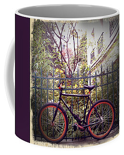 Retro Red Tires Coffee Mug