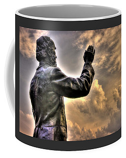 Rev. Father William E. Corby C S C - Blessing The Troops Of The 88th New York Infantry Irish Brigade Coffee Mug