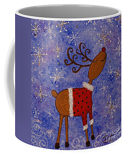 Rex The Reindeer Coffee Mug