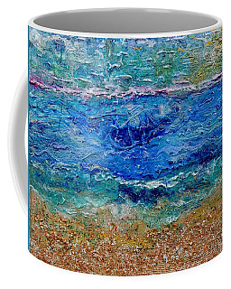 Rhapsody On The Sea  Coffee Mug by Regina Valluzzi