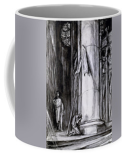 Reims Cathedral Coffee Mugs