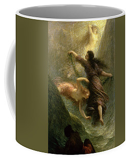 Rheingold, First Scene, 1888 Oil On Canvas Coffee Mug