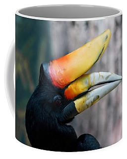 Rhinoceros Hornbill  Coffee Mug