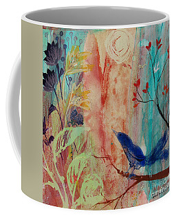Rhythm And Blues Coffee Mug by Robin Maria Pedrero