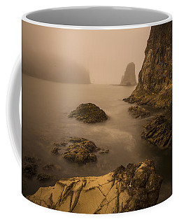 Rialto Beach Rocks Coffee Mug